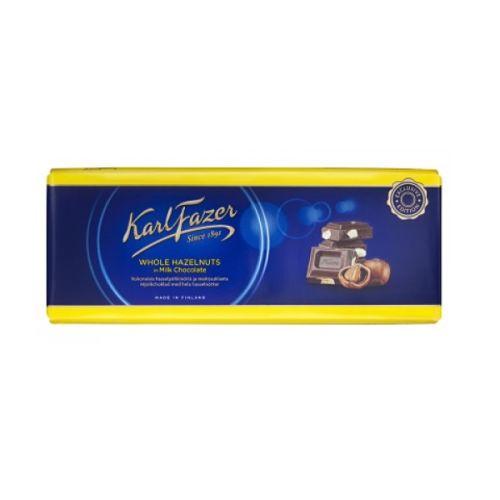 Karl Fazer Milk Hazelnut Chocolate
