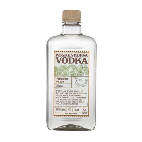 Lemon Lime Yarrow Vodka