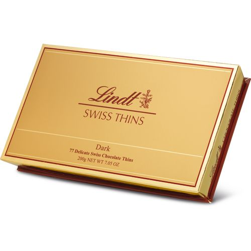 Lindt Swiss Thins Dark