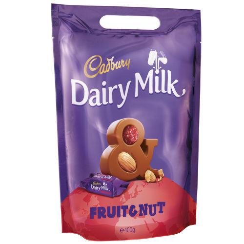 Dairy Milk Fruit & Nut Chunks Pouch