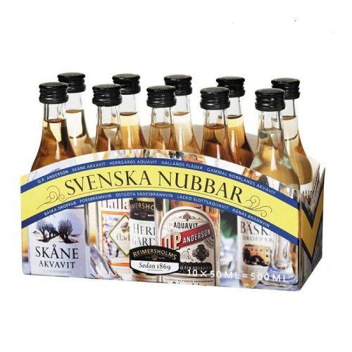 Svenska Nubbar Aquavit Miniatures