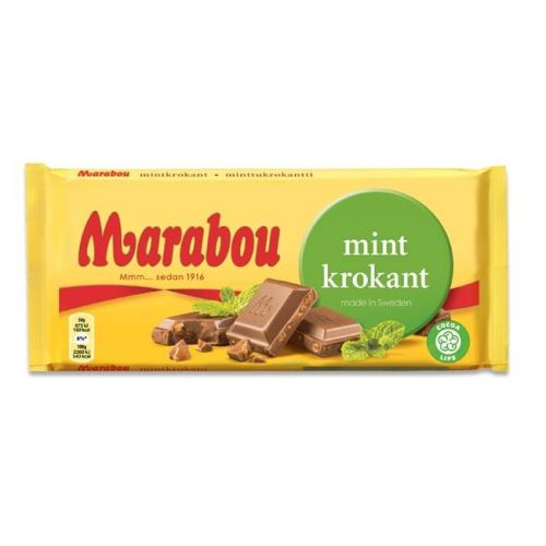 Mint Krokant Chocolate
