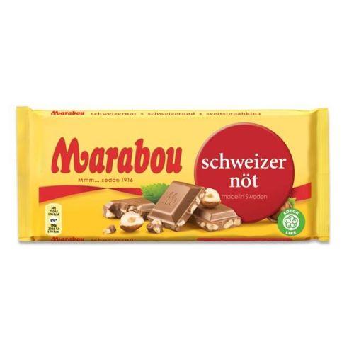 Schweizernöt Choklad