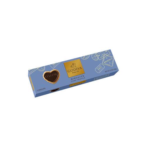 Dark Chocolate Truffle Biscuits