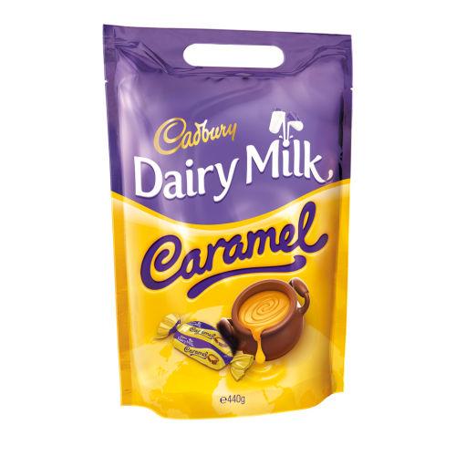 Dairy Milk Caramel Chuncks Pouch