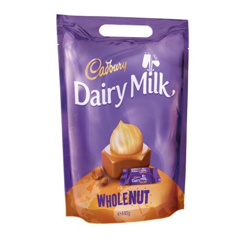 Dairy Milk Whole Nut Chunks Pouch