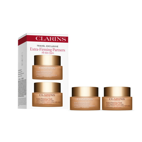 Clarins Extra Firming Partners Day and Night Cream Set 2 Pack - Humco Glycerin USP 6 oz