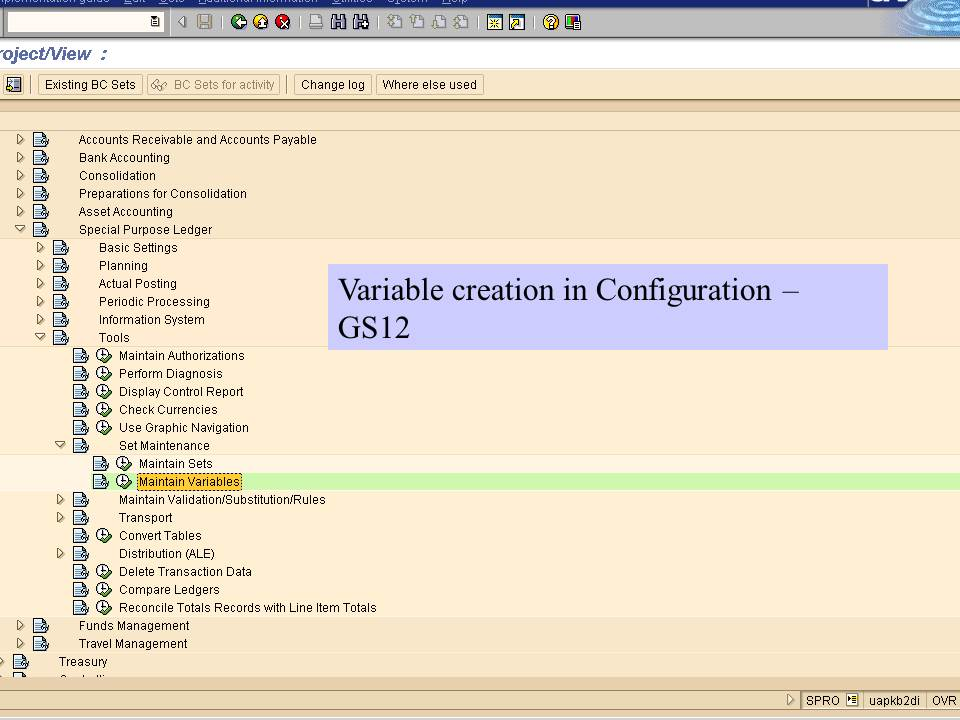 14. Variable creation