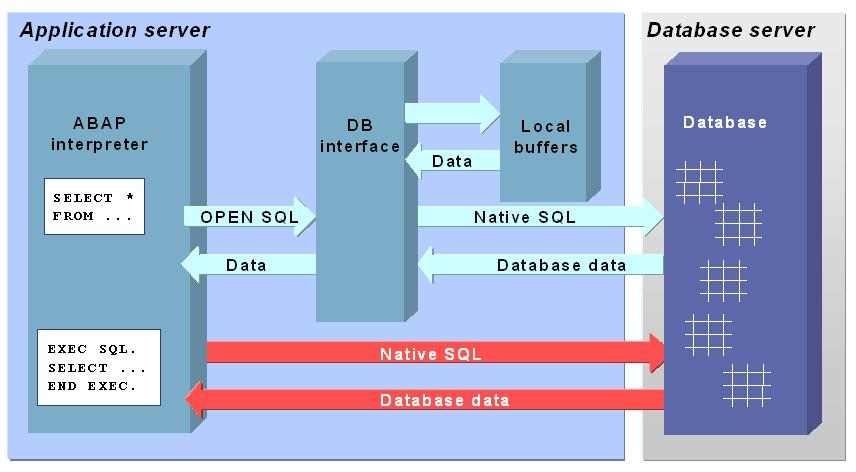 SAP Databae Interfaces
