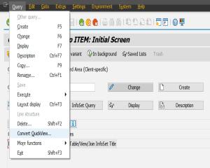Output Type Configuration
