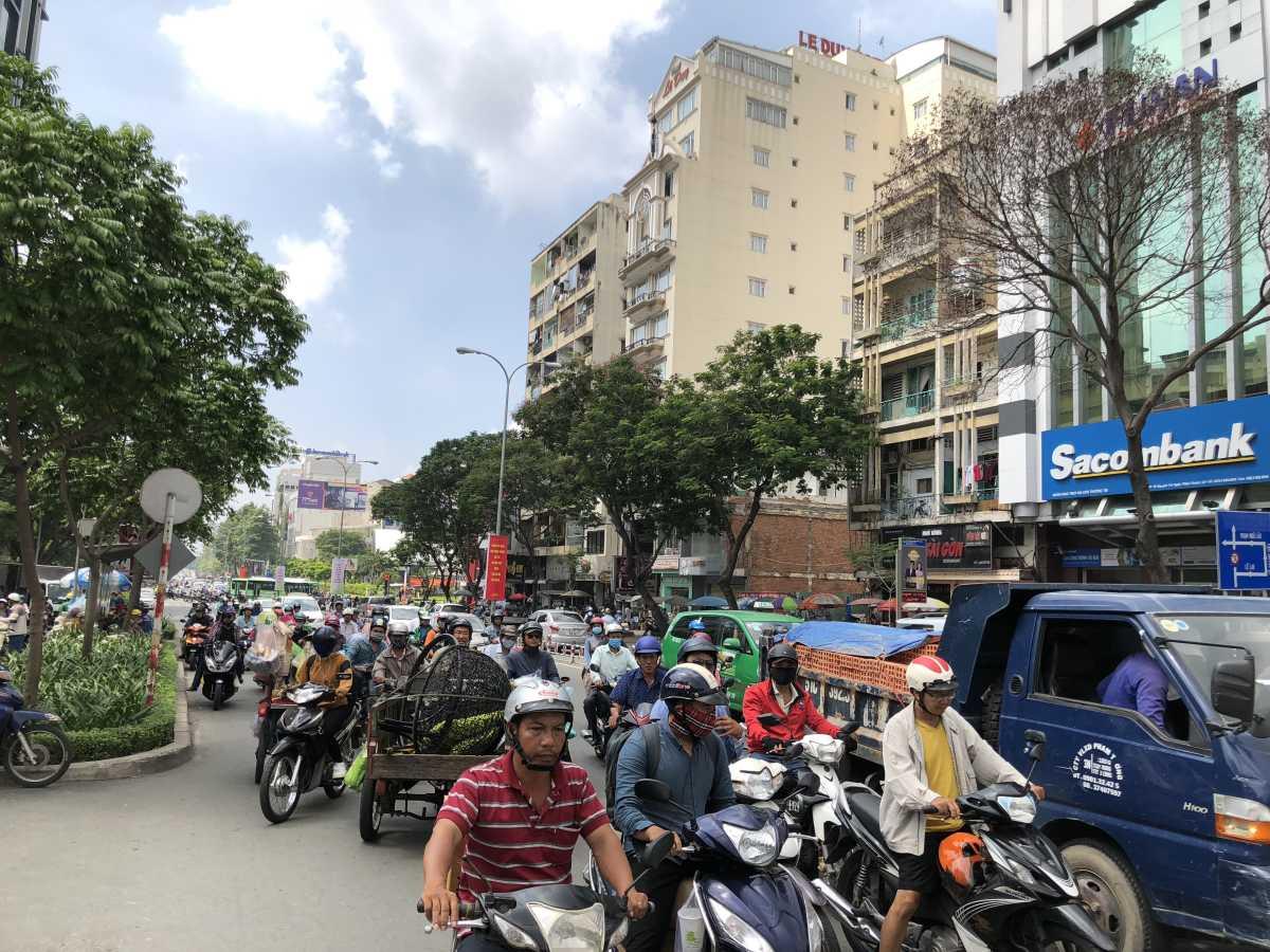 Roads in HCMC