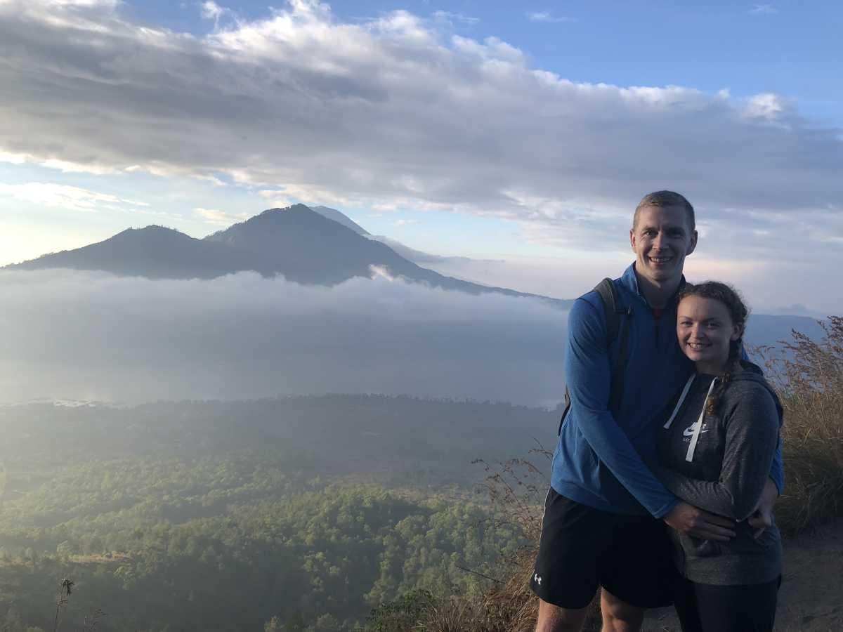 Mount Batur sunrise trek views