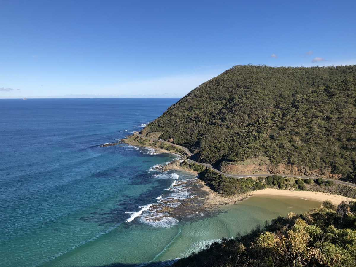 A special view from Teddy's Lookout