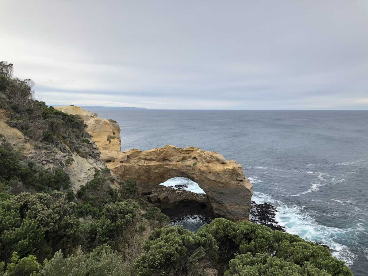 The Arch, just past Port Campbell