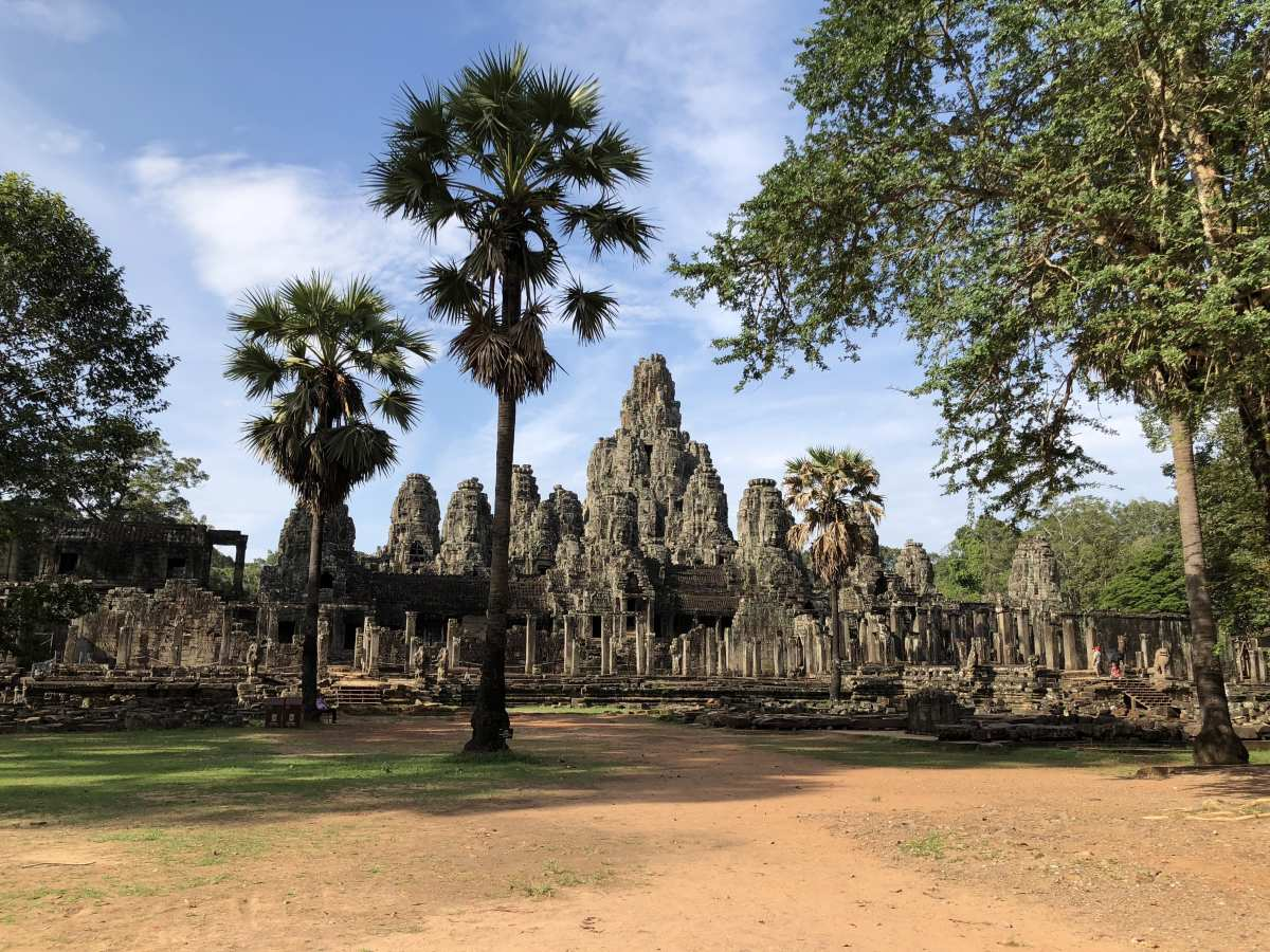 Bayon Temple from the road outside