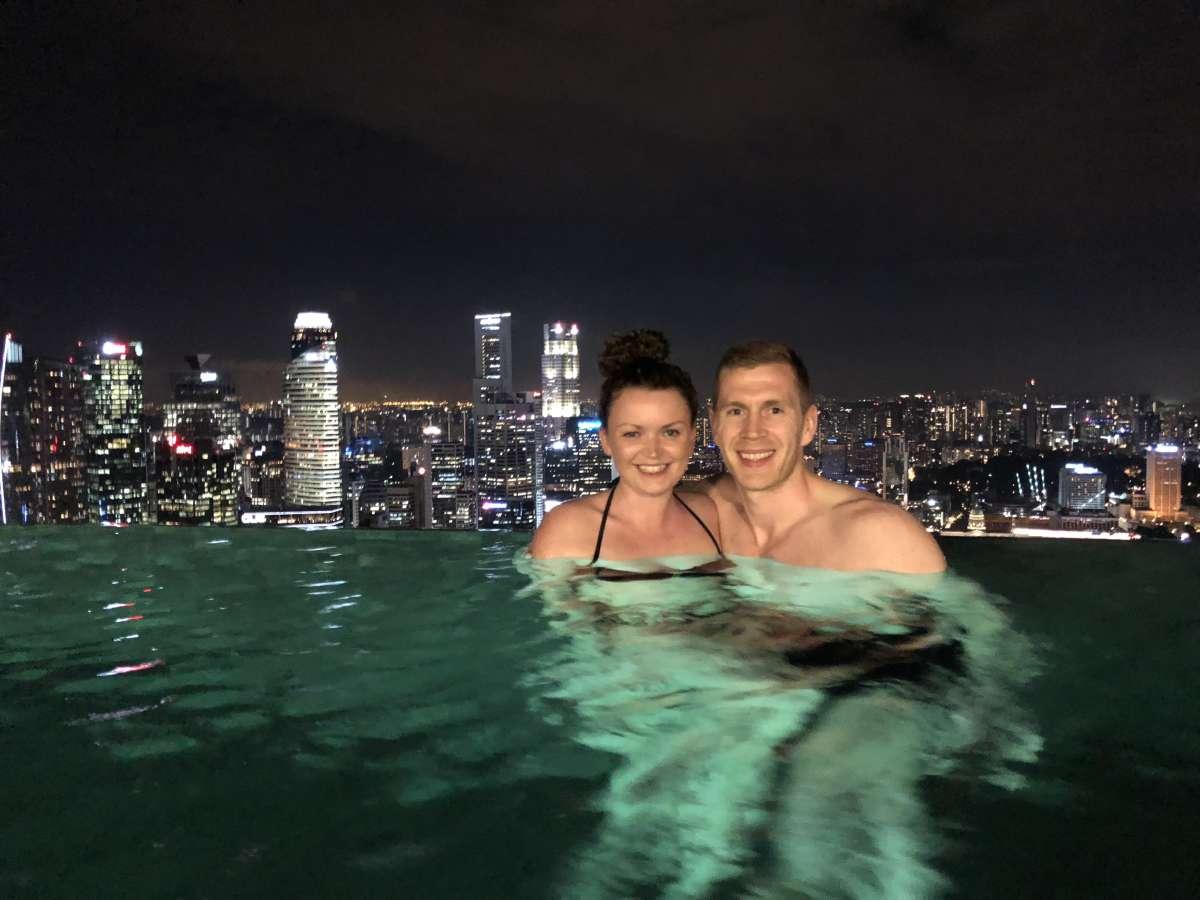Us at Marina Bay Sands