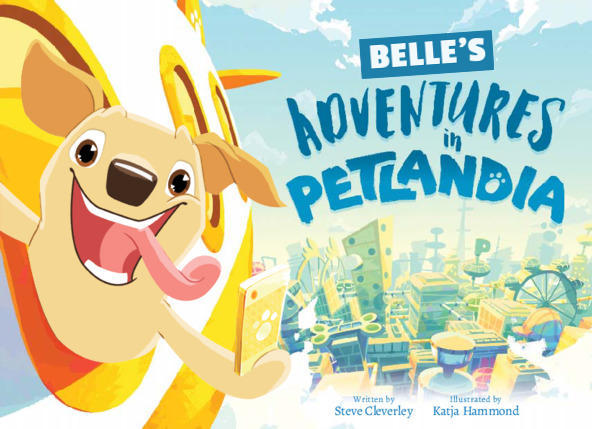 Belle's Adventures in Petlandia Front Cover