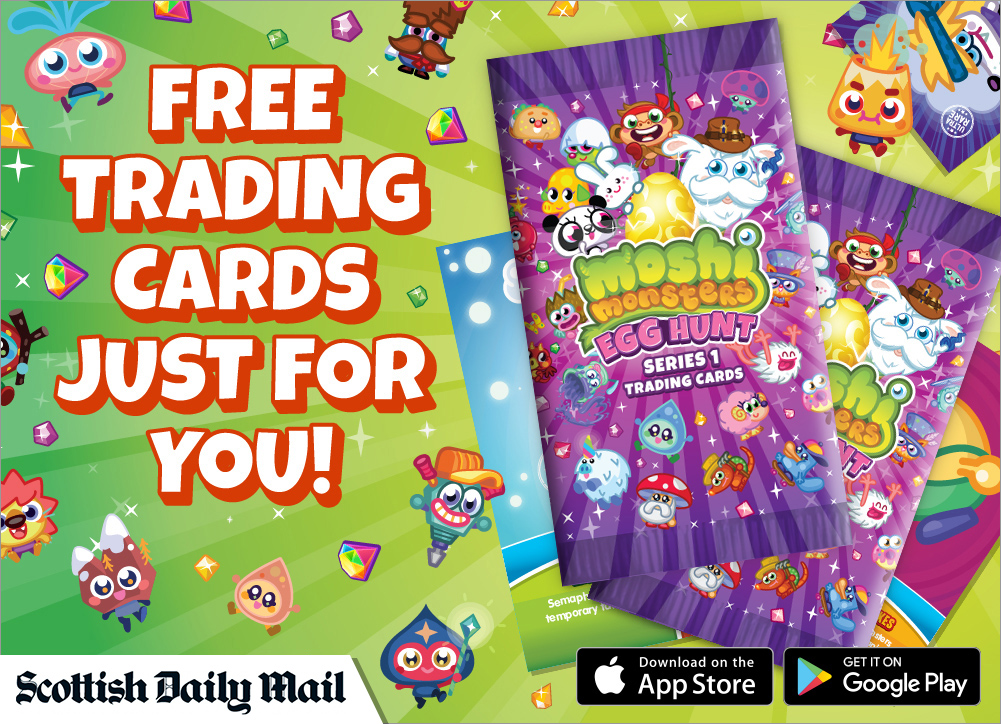 Daily Mail Give away trading cards