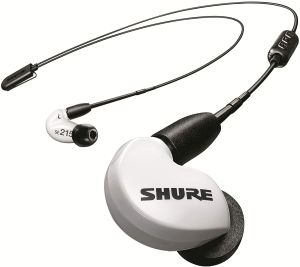 Shure SE215 Wireless (White)