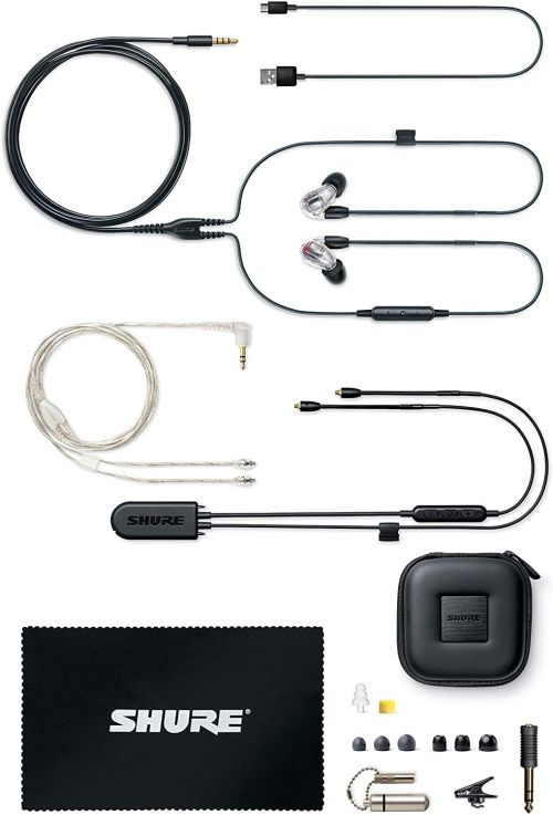 Shure SE846 (Clear w/ Wireless Adapter)