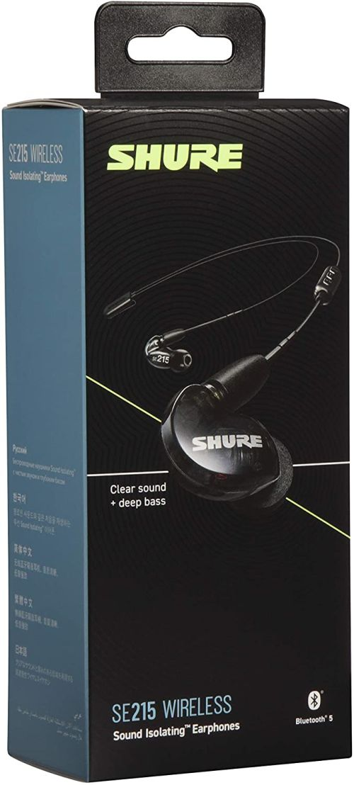 Shure SE215 Wireless (Black)