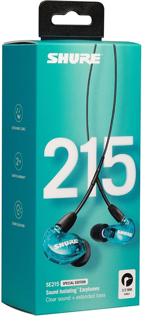 Shure SE215 Wired (Blue)