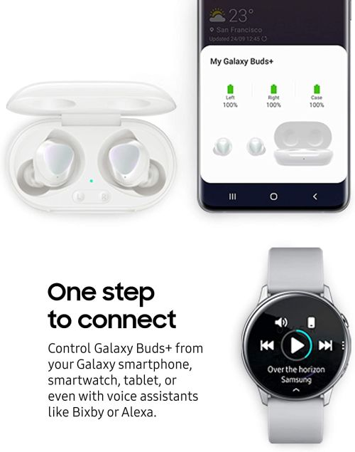 Samsung Galaxy Buds Plus (White)