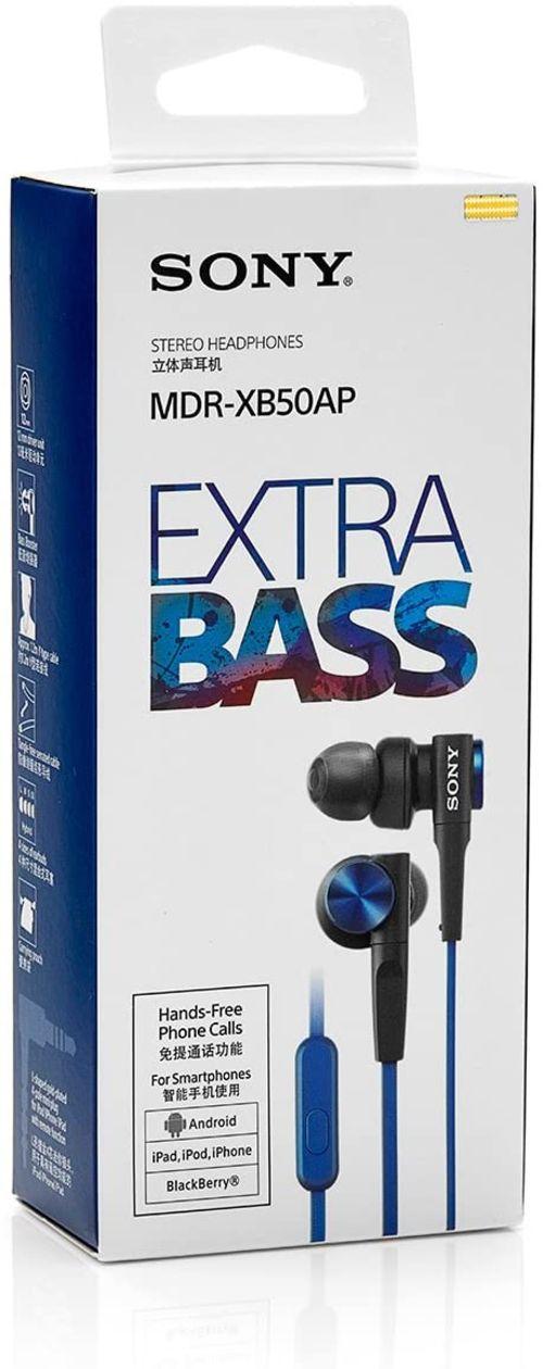 Sony MDR-XB50AP (Blue)