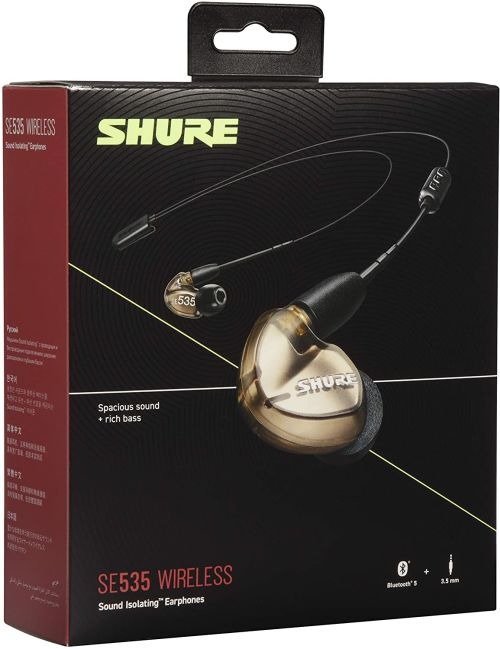 Shure SE535 (Bronze w/ Wireless Adapter)