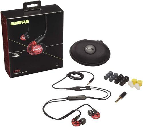 Shure SE535 (Translucent Red)