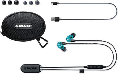 Shure SE215 Wireless (Translucent Blue)