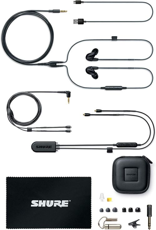 Shure SE846 (Black w/ Wireless Adapter)