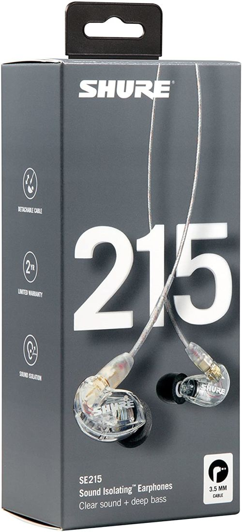 Shure SE215 Wired (Clear)