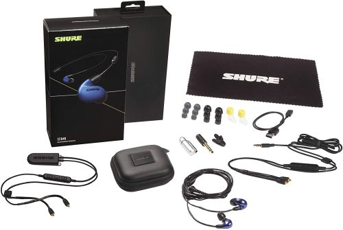 Shure SE846 (Blue w/ Wireless Adapter)
