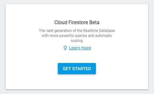Add Firestore