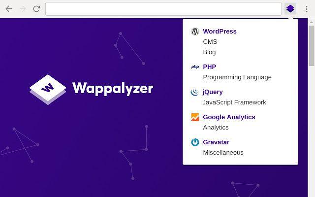 Wappalyzer plugin