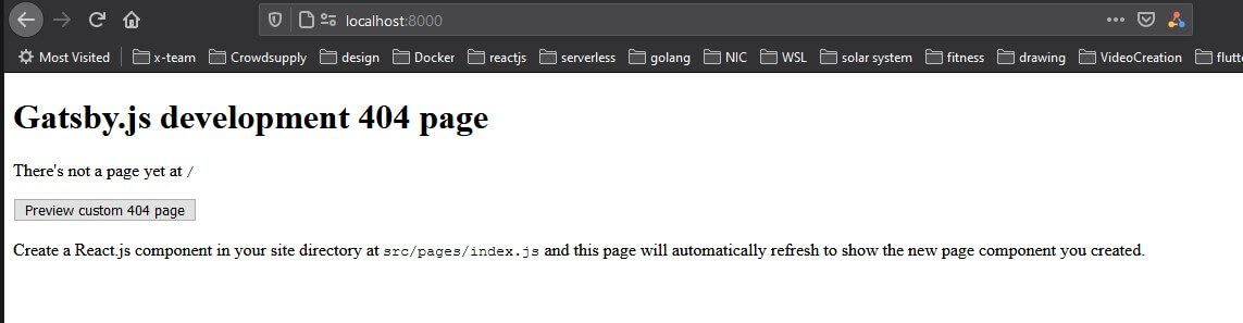 A Gatsby 404 page