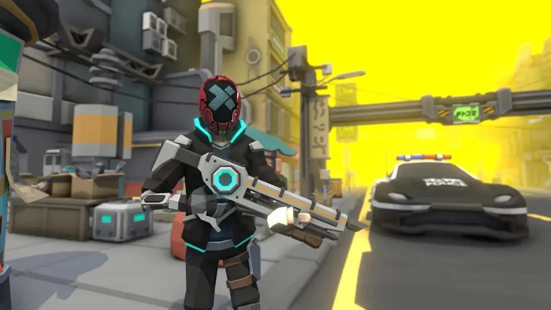An X-Teamer in Avarus City