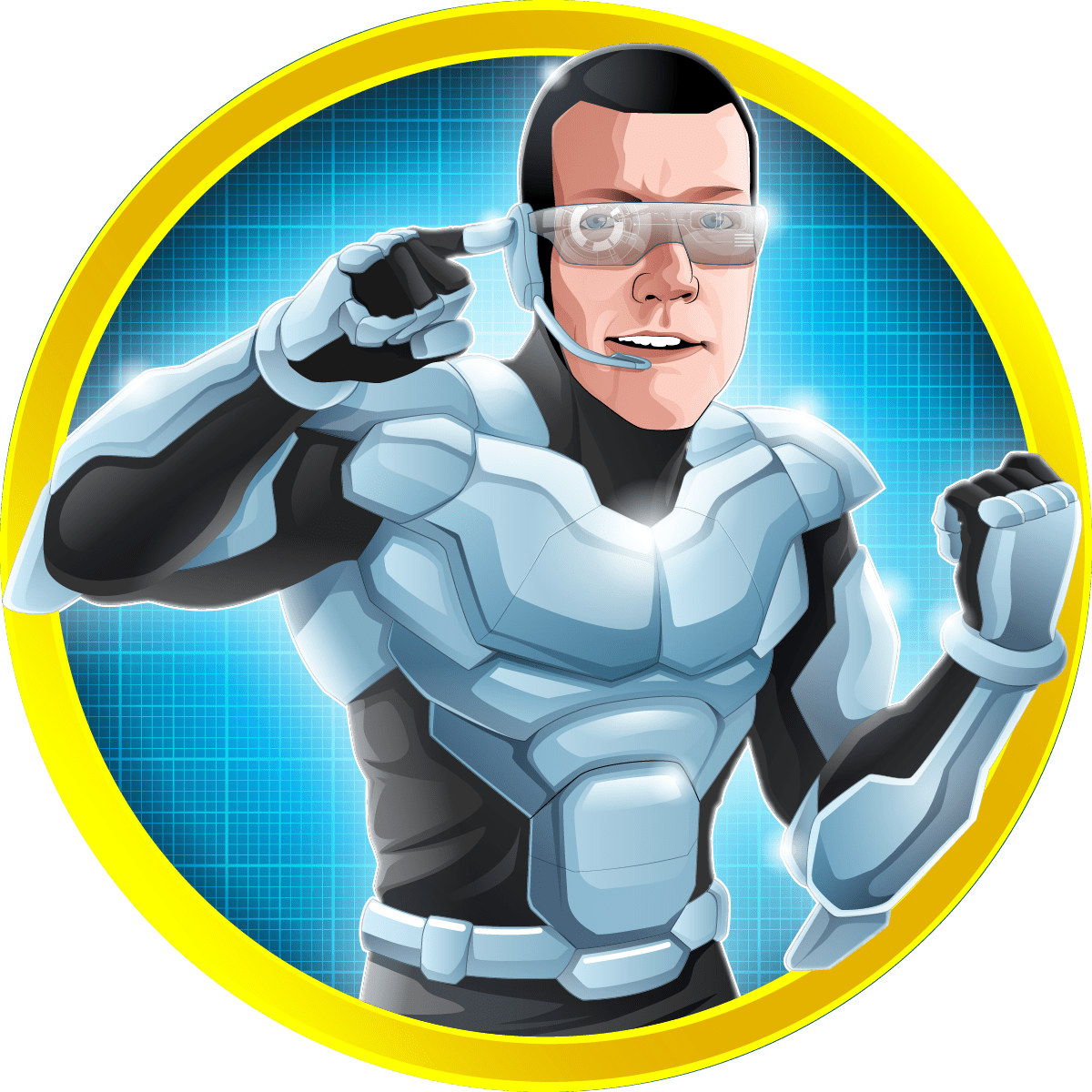 Heroized Kasper Myram COMMUNICATOR-01