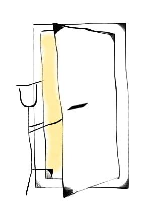 entrance, door