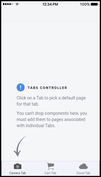 Main panel: Tabs