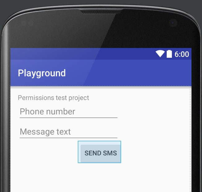 Android Runtime Permissions
