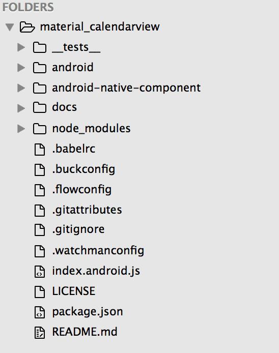 Java UI Component on React Native