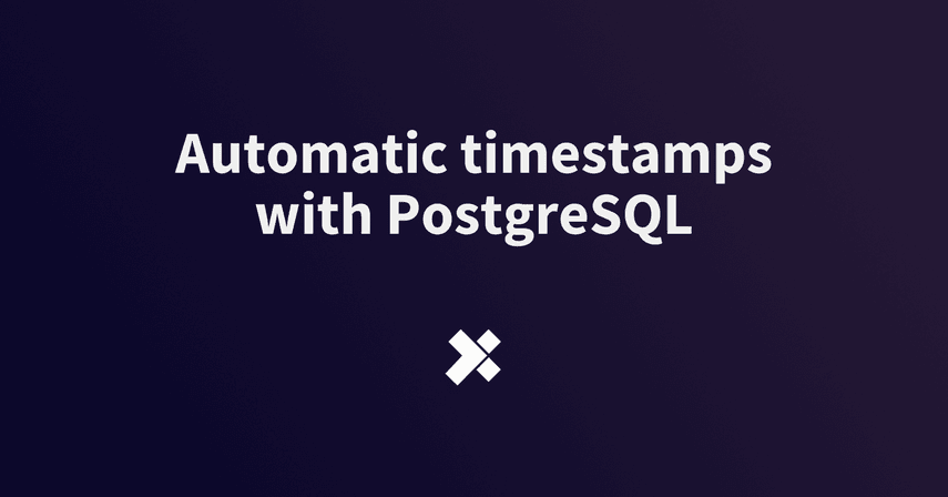 Automatic timestamps with PostgreSQL