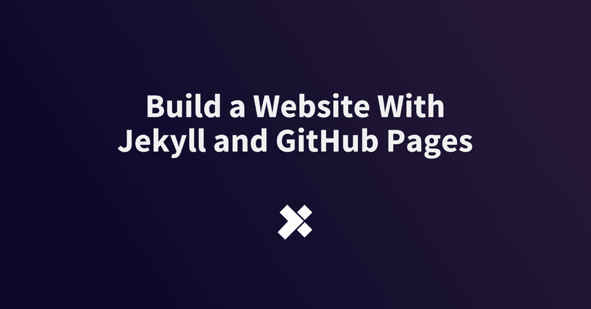 Build a Website With Jekyll and GitHub Pages