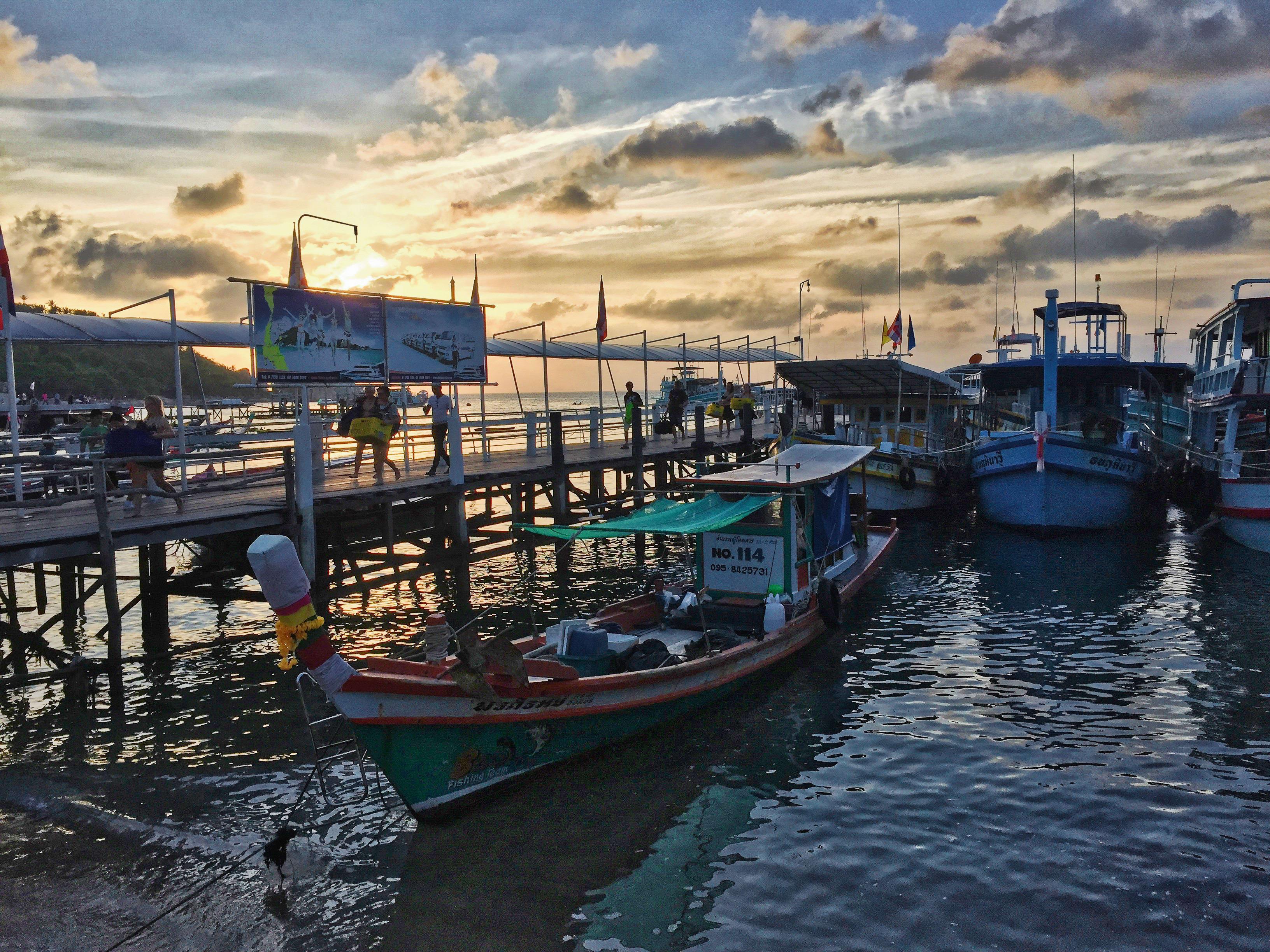 Ko Samui - Ko Phangan ferry pier