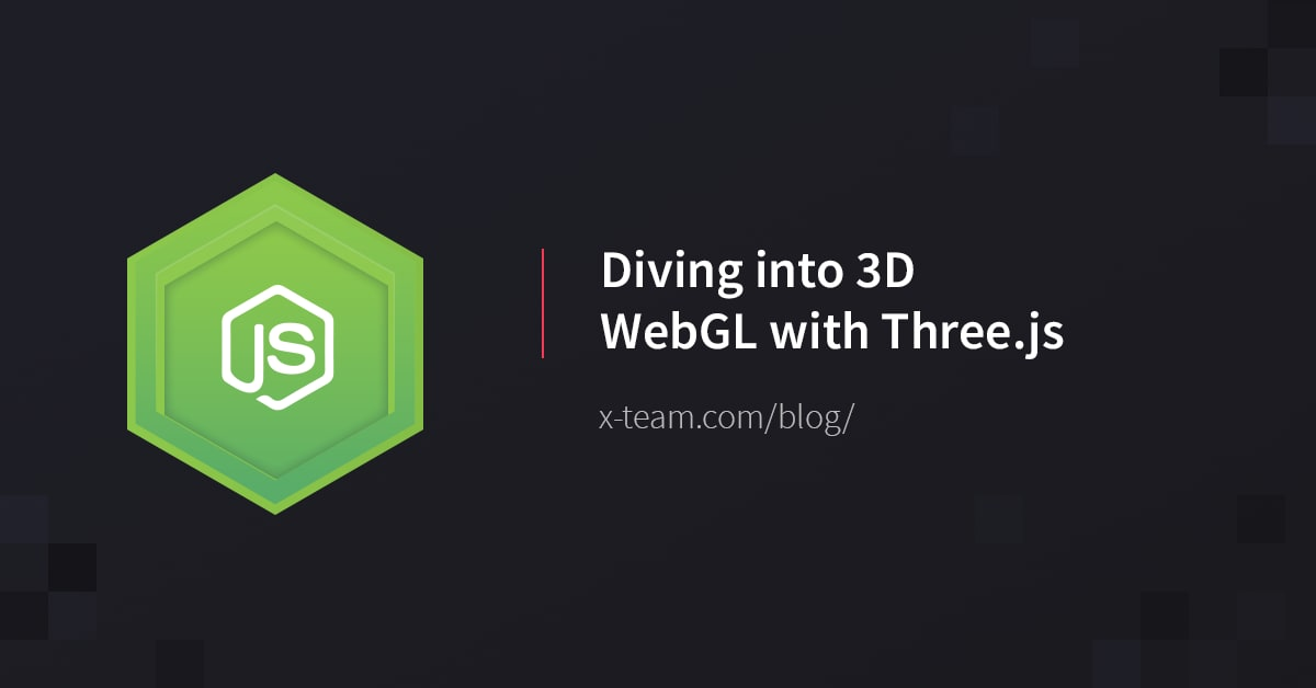 Diving into 3D WebGL with Three js
