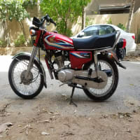 Honda 125cc motorcycle