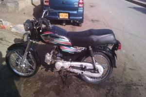 Unique 70cc bike