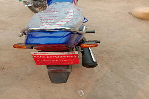 Honda Pridor Blue new bike purchase